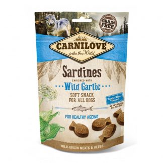 carnilove-semi-moist-dog-treats-sardines-with-wild-garlic